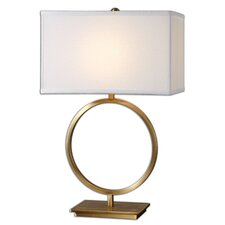 "Duara 28.75"" H Table Lamp with Rectangular Shade"