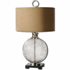 "Catalan 29.5"" H Table Lamp with Drum Shade"