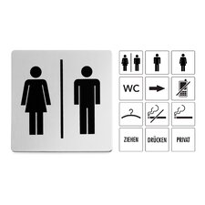 """Indici Information Sign """"Woman or Men"""""""