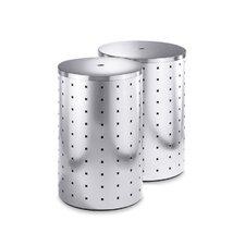 Quadro Laundry Bin with Steel Lid