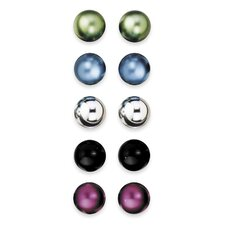 Assorted Colored Pin Magnets (Set of 2)