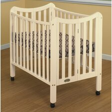 Tian 3 Level Portable Crib with Mattress