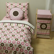 Mod Dots and Stripes 4 Piece Toddler Bedding Set