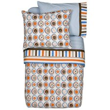 Mod Sports 4 Piece Toddler Bedding Set