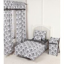 Classic Damask 4 Piece Toddler Bedding Set