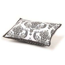 Classic Damask Decorative Cotton Boudoir/Breakfast Pillow