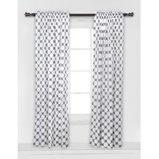 Large Dots Single Curtain Panel