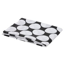 Large Dots Crib Fitted Sheet