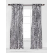 Pin Stripes Single Curtain Panel