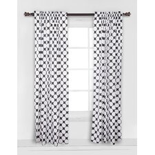 Large Dots Curtain Panel