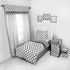 Dots/Pin Stripes 4 Piece Toddler Comforter Collection