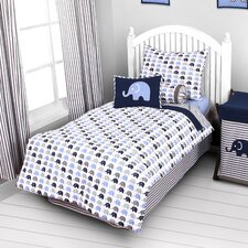 Elephants 3 Piece Toddler Bedding Set