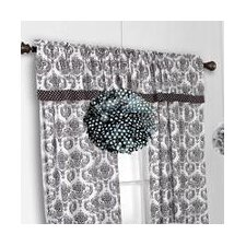 Classic Damask Curtain Panel