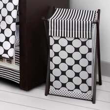 Dots/Pin Stripes Hamper