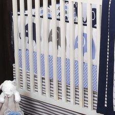 Mini Elephants Crib Fitted Sheet