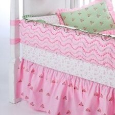 Summer Garden Crib Fitted Sheet