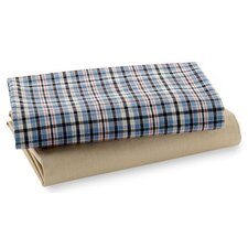 Crib Fitted Sheet (Set of 2)