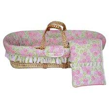 Flower Basket Moses Basket