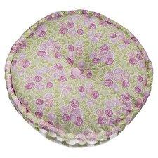 Flower Basket Cotton Floor Pillow