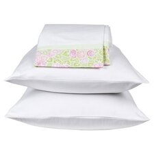 Flower Basket Standard Pillowcase