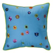 Valley of Flowers Decorative Cotton Throw Pillow