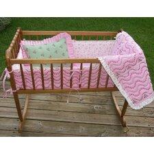 Summer Garden Cradle Bedding Collection