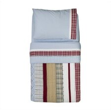 Boys Stripes and Plaids Toddler Bedding Collection