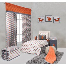 Playful Fox 4 Piece Toddler Bedding Set