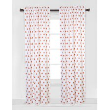 Playful Fox Curtain Panel