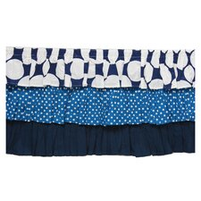Mix N Match Dots Crib Skirt