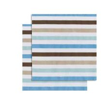 Mod Diamonds and Stripes Fitted Crib Sheets (Set of 2)