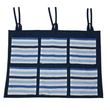 Little Sailor Stripes Wall / Crib Storage Organizer