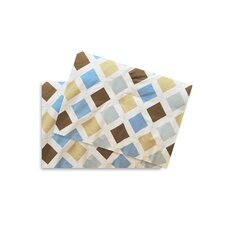 Mod Diamonds and Stripes Argyle Fitted Crib Sheets (Set of 2)
