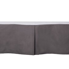 Stars Solid Crib Skirt