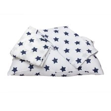 Stars Ikat Muslin Toddler Sheet (Set of 3)