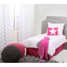 Stars Ikat Muslin 4 Piece Toddler Bedding Set