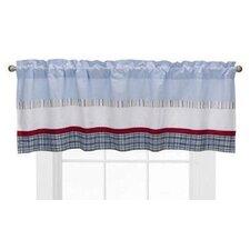 "Boys Stripe and Plaids 58"" Curtain Valance"