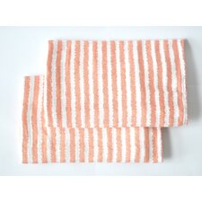Ikat/Stripes Muslin Fitted Crib Sheets (Set of 2)