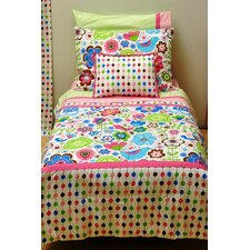 Botanical Sanctuary 4 Piece Toddler Bedding Set