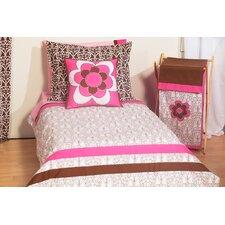 Damask 4 Piece Toddler Bedding Set