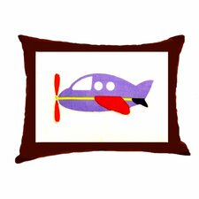 Transportation Decorative Cotton Throw Pillow