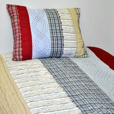 Boys Stripes and Plaids Quilt