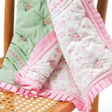 Summer Garden Toddler Throw