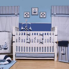 Little Sailor 10 Piece Crib Bedding Set with Bumper