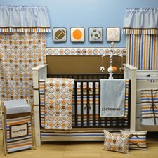 Mod Sports 10 Piece Crib Bedding Set