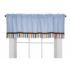 Mod Sports Cotton Curtain Valance
