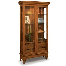 ColorTime Summerville Display Curio Cabinet