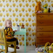 "Dotty Kids 32.8' x 20.9"" Wallpaper"