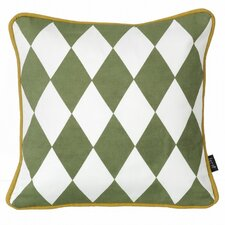 Little Geometry Organic Cotton Throw Pillow