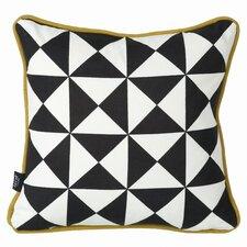Little Geometry Organic Cotton Throw Pillow